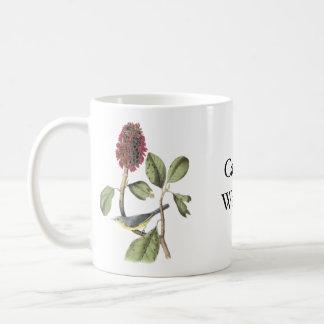 Audubon Canada Warbler Basic White Mug