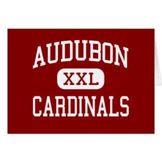 Audubon - Cardinals - Middle - Milwaukee Wisconsin Greeting Cards