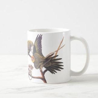 Audubon Carolina Parakeet Mug Basic White Mug