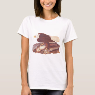 Audubon Classic Bald Eagle with Fresh Catch Fish T-Shirt