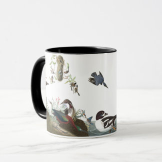 Audubon Collage Birds Wildlife Ocean Mug