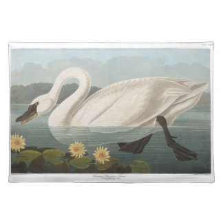 Audubon Common American Swan Placemat