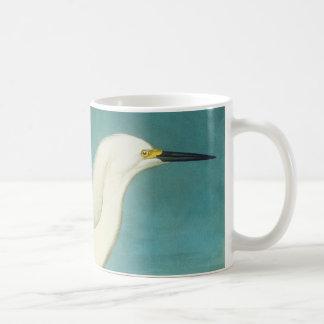 Audubon: Egret Basic White Mug