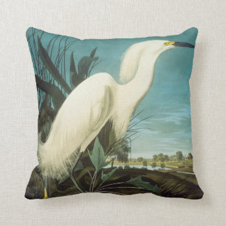 Audubon: Egret Cushion
