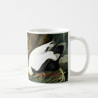 Audubon: Eider Duck Basic White Mug