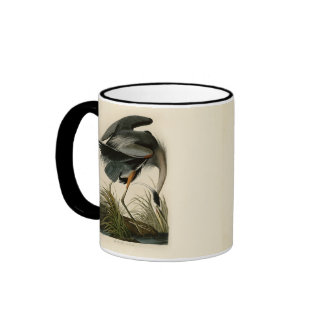 Audubon Great Blue Heron Birds Coffee Mug