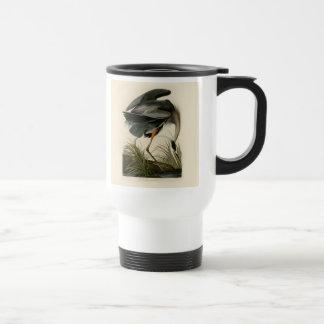Audubon Great Blue Heron Birds Coffee Mugs