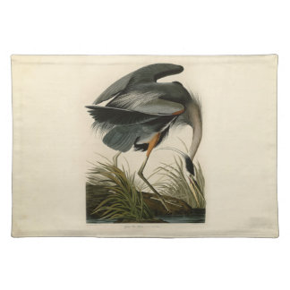 Audubon Great Blue Heron Birds Placemat