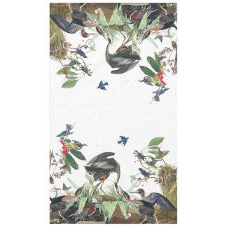 Audubon Heron Birds Songbirds Collage Tablecloth