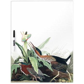 Audubon Heron Birds Wildlife Animal Erase Board