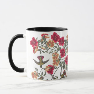 Audubon Hummingbird Birds Wildlife Flowers Mug