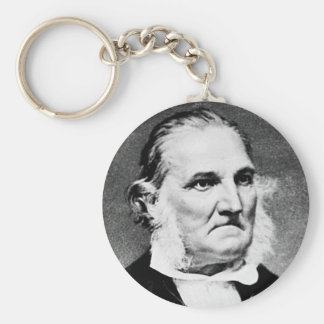 Audubon ~ John James Naturalist Artist Basic Round Button Key Ring