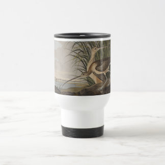 Audubon Long-Billed Curlew Sandpiper Bird Travel Mug