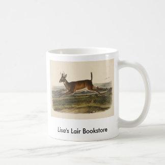 Audubon - Long-Tailed Deer Bookstore Promo Basic White Mug