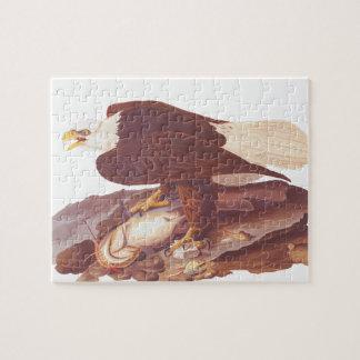 Audubon Majestic Bald Eagle with Fresh Catch Puzzles