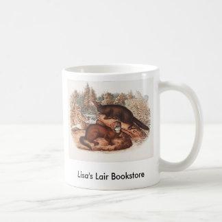 Audubon - Mink Bookstore Promo Basic White Mug
