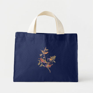 Audubon Painted Bunting Birds in a Cherokee Plum Mini Tote Bag