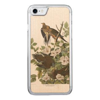 Audubon Plate 17 Carolina Pigeon Carved iPhone 8/7 Case