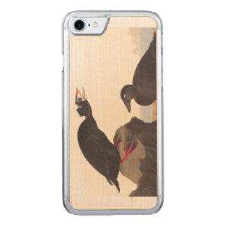 Audubon Plate 317 Black Duck Carved iPhone 8/7 Case