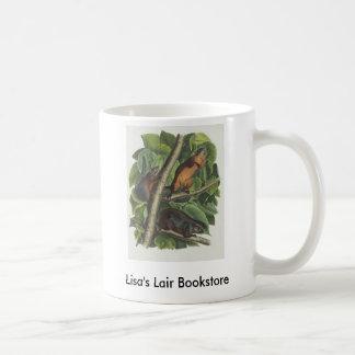 Audubon - Red-Bellied Squirrel Bookstore Promo Basic White Mug