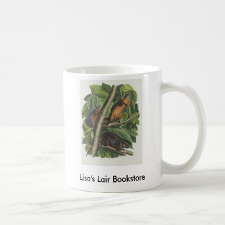 Audubon - Red-Bellied Squirrel Bookstore Promo Classic White Coffee Mug
