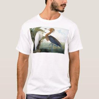 Audubon: Reddish Egret Or Purple Heron T-Shirt