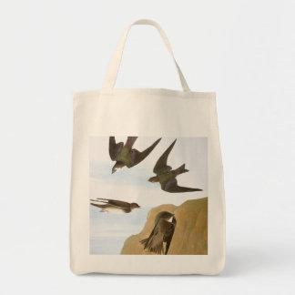 Audubon: Swallows Tote Bag