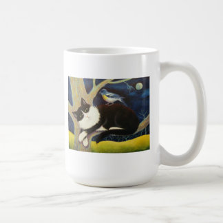 AUDUBON THE CAT COFFEE MUG