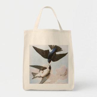 Audubon: Tree Swallow Tote Bag