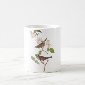 Audubon White Throated Sparrow Coffee Mug