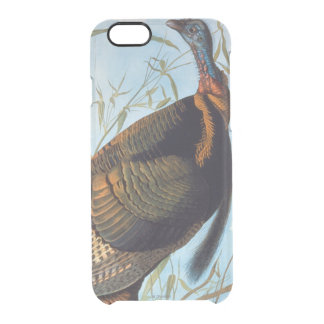 Audubon: Wild Turkey Clear iPhone 6/6S Case