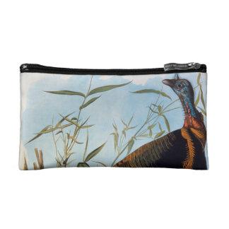 Audubon: Wild Turkey Cosmetic Bags