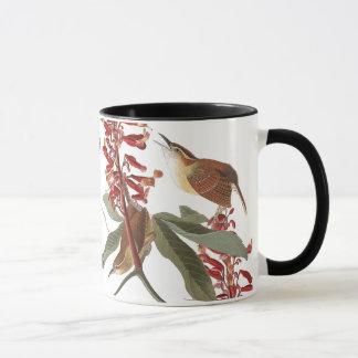 Audubon Wren Birds Wildlife Flowers Mug