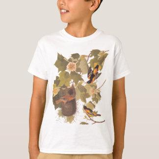 Audubon's Baltimore Oriole Trio T-Shirt