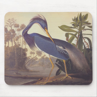 Audubon's Louisiana Heron or Tricolored Heron Mouse Mat