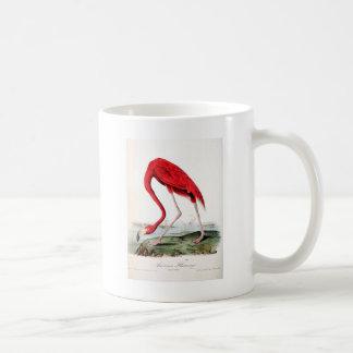 Audubon's Red Flamingo Coffee Mug