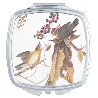 Audubon's Worm-Eating Warbler Compact Mirror