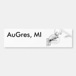 AuGres, MI Bumper Sticker