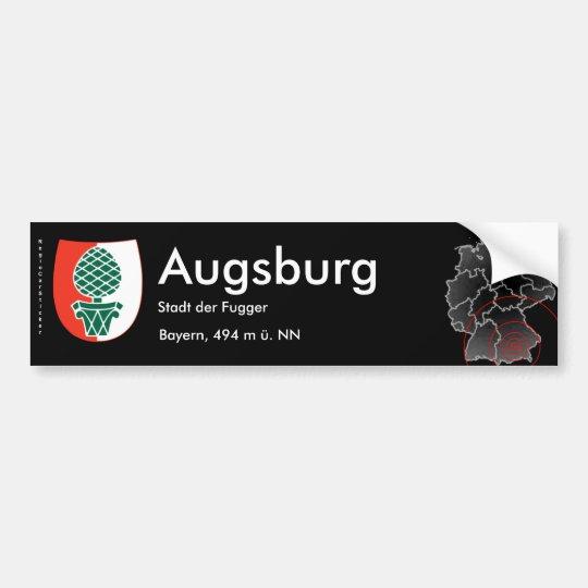 Augsburg 2 bumper sticker
