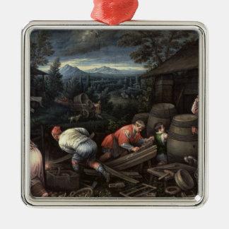 August, 1595-1600 christmas ornament