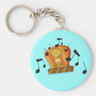 August 20th, National Radio Day Key Ring