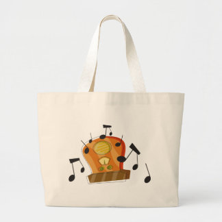 August 20th, National Radio Day Large Tote Bag