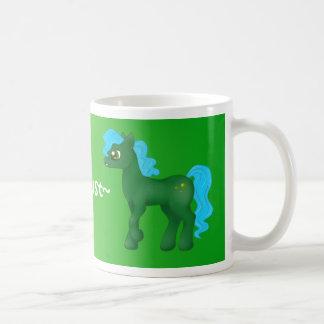August Birthstone Pony Mug