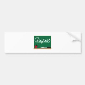 August Board Bumper Stickers
