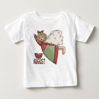 August Country Angel Design Baby T-Shirt