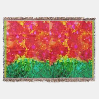 August Garden Cozy BLanket by Susi Franco