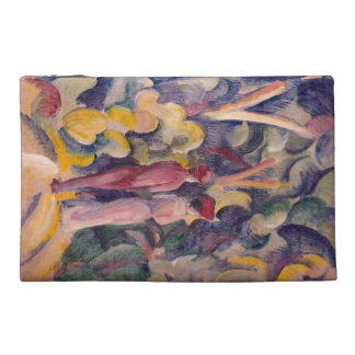 August Macke - Couple on the Forest Track Travel Accessories Bag