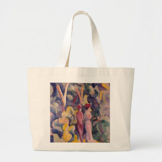 August Macke - Couple on the Forest Track Bags
