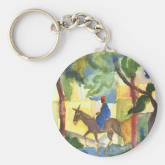 August Macke Fine Art Keychain