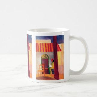 August Macke - Turkish Cafe I Coffee Mug